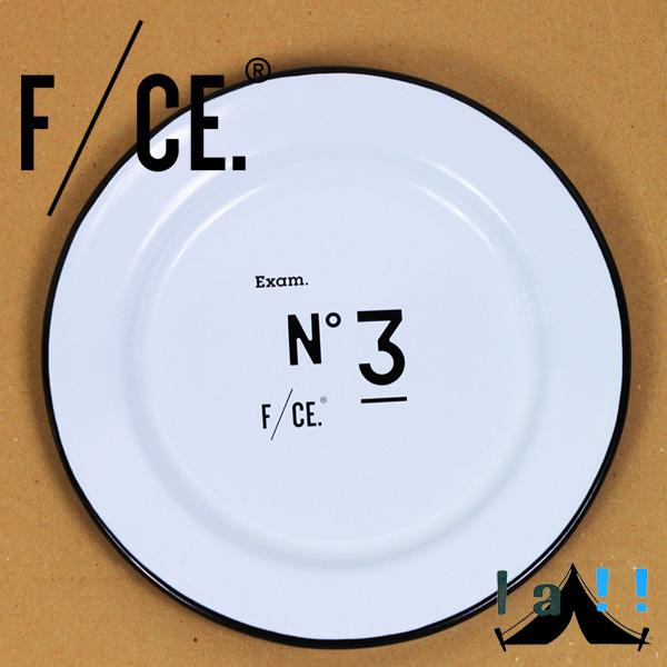 【 F/CE. × Crow Canyon Home 】 エフシーイー×クロウキャニオンホーム NO.3 LINE Salad Plate