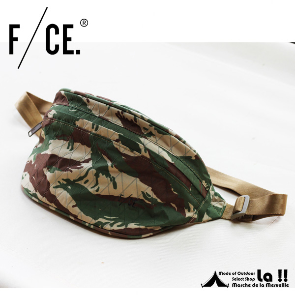 【 F/CE. 】 エフ・シーイー XPAC WAIST BAG CAMO XPAC素材ウェストバッグ・カモフラージュ