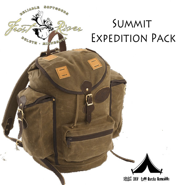 【 Frost River 】 フロストリバー Summit  Expedition Pack Waxed Canvas Knapsack