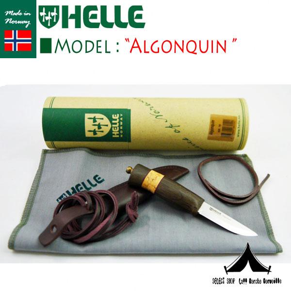 【 HELLE of NORWAY 】 ヘレオブノルウェー ナイフ  Algonquin アルゴンキン