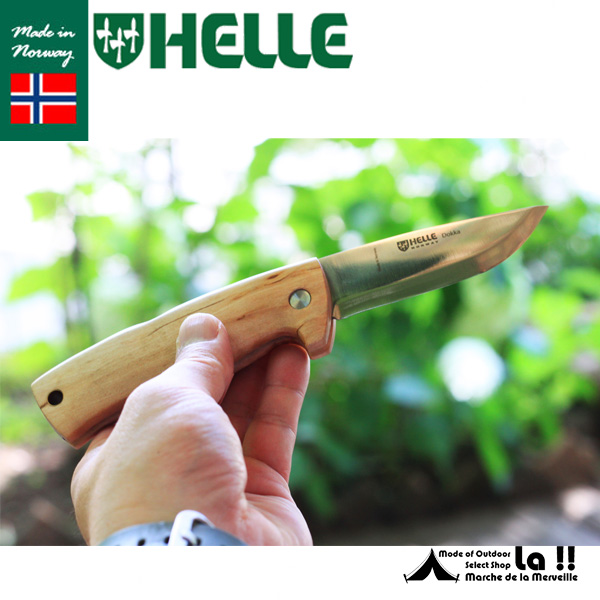 【 HELLE of NORWAY 】 ヘレオブノルウェー ナイフ  Dokka 12C27ST ドッカー12C27ステンレスブレード フォールディング