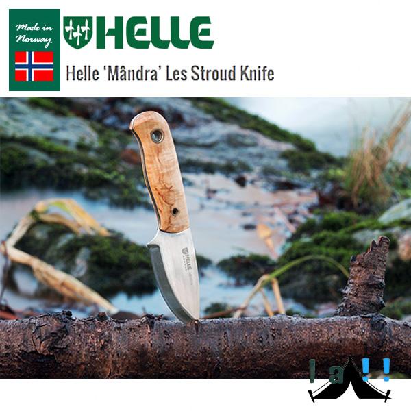 【 HELLE of NORWAY 】 ヘレオブノルウェー Les Stroud Mandra ヘレ&レス・ストラウド マンドラ ネックナイフ