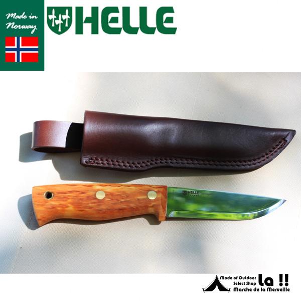 【 HELLE of NORWAY 】 ヘレオブノルウェー ナイフ  Temagami 12C27ST テマガミ 12C27ステンレスブレード ハーフタング