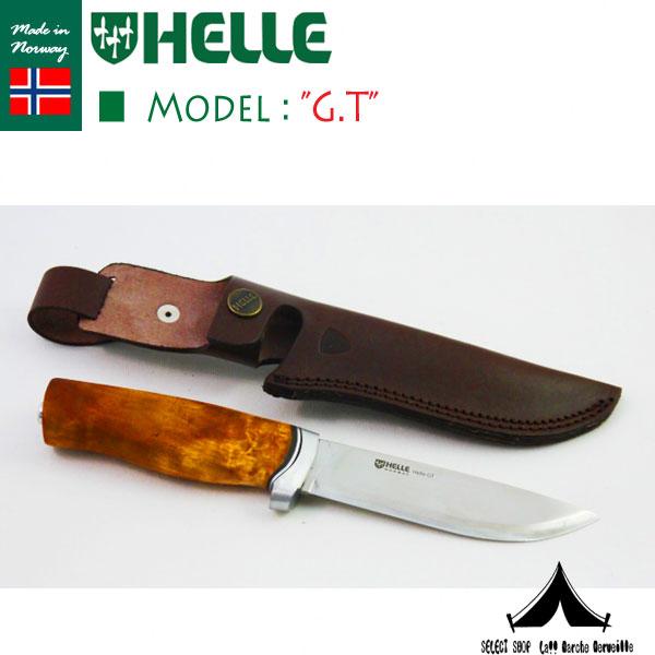 【 HELLE of NORWAY 】 ヘレオブノルウェー ナイフ  HELLE GT