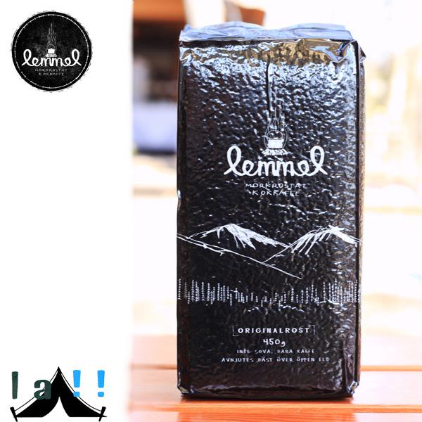 【 lemmel KAFFE 】 レンメル・コーヒー 450 g of originals オリジナル450g (アラビカ豆100% 深煎り 粗挽き)