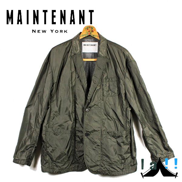 【 Maintenant N.Y. 】 メンテナント Oversized Jacket オーバーサイズ・ジャケット