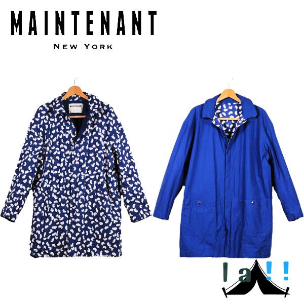 【 Maintenant N.Y. 】 メンテナント Reversible Mac Coat リヴァーシブル・マックコート