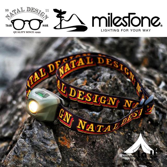 【 Natal Design × Mile Stone 】ネイタルデザイン&マイルストーン G-1ヘッドライト