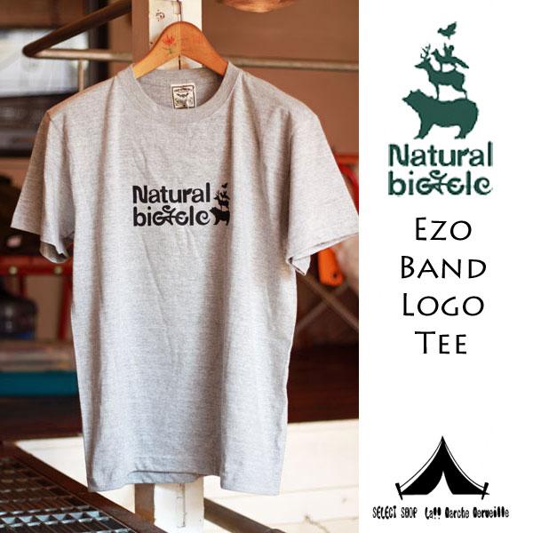 【 Natural Bicycle 】 ナチュラル・バイシクル EZO Band T-Shirt エゾ・バンド・Tシャツ