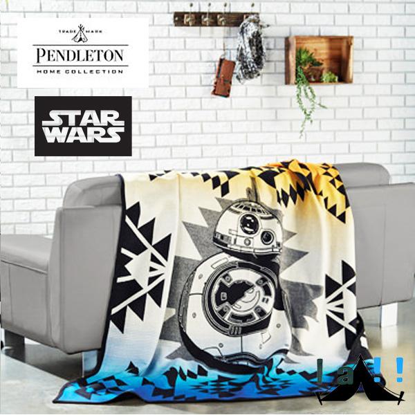 【 Pendleton Woolen Mills 】 ペンドルトン PWM Starwars Robe BB8 ブランケット スターウォーズコレクション BB8