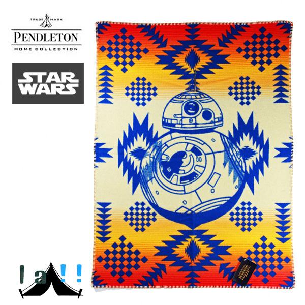 【 Pendleton Woolen Mills 】 ペンドルトン PWM Starwars Muchacho BB8 ムチャチョブランケット スターウォーズコレクション BB8