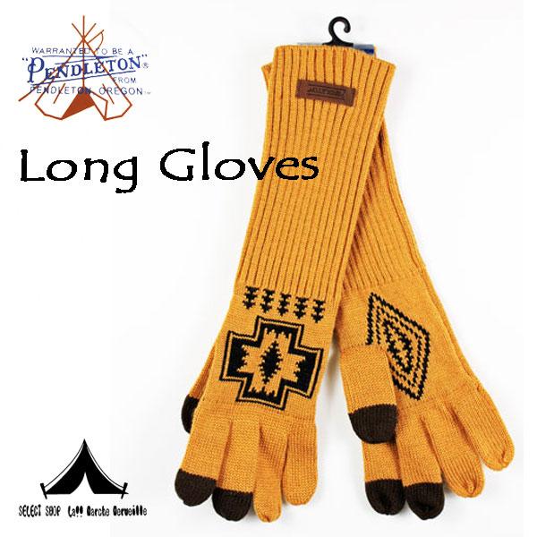 【 Pendleton Woolen Mills 】 ペンドルトン Wool Long Gloves ウール・ロング・グローブ