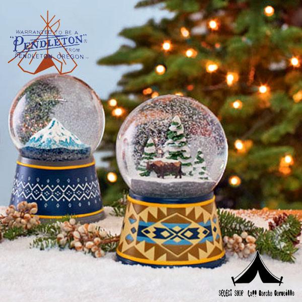 【 Pendleton Woolen Mills 】 ペンドルトン Snow Globes スノー・グローブ
