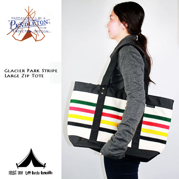 【 Pendleton Woolen Mills 】 ペンドルトン Zip Tote Bag ジップ・トートバッグ