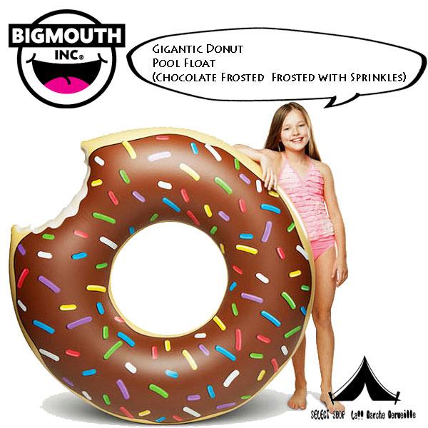 【 BigMouth Inc 】 ビッグマウス Giant Donut Pool Float ジャイアントドーナッツプールフロート
