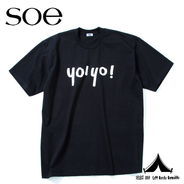 "【 Soe 】 ソーイ  Based Off Of a PRO CLUB Products ""YO YO"" Big T-Shirt"