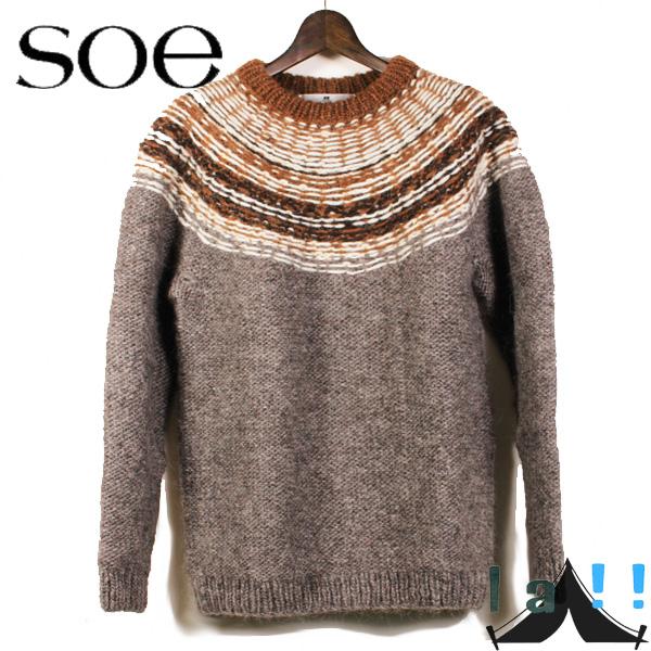【 Soe 】 ソーイ Nordic Sweater ノルディック ・セーター