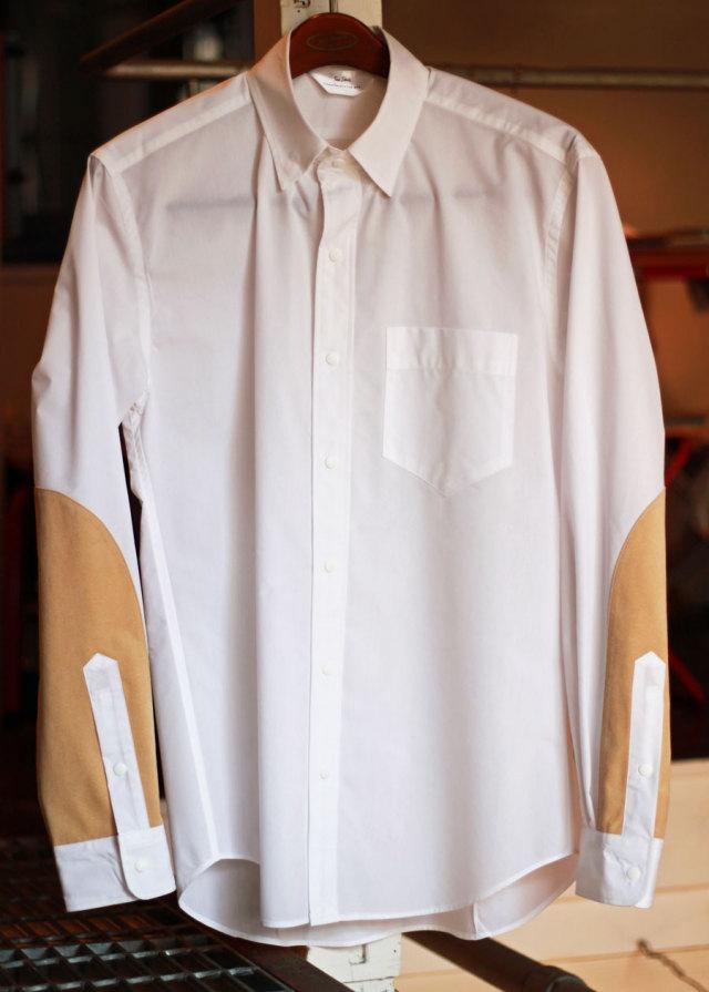 【 Soeshirts 】 ソーイシャツ COTTON NYLON TYPEWRITER CLOTH L/S CONCEALED B.D COLLAR [ 2161-81-013 ]