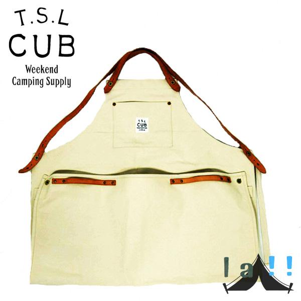 【 TSL Cub 】 ティーエスエル・カブ Carry Apron キャリーエプロン