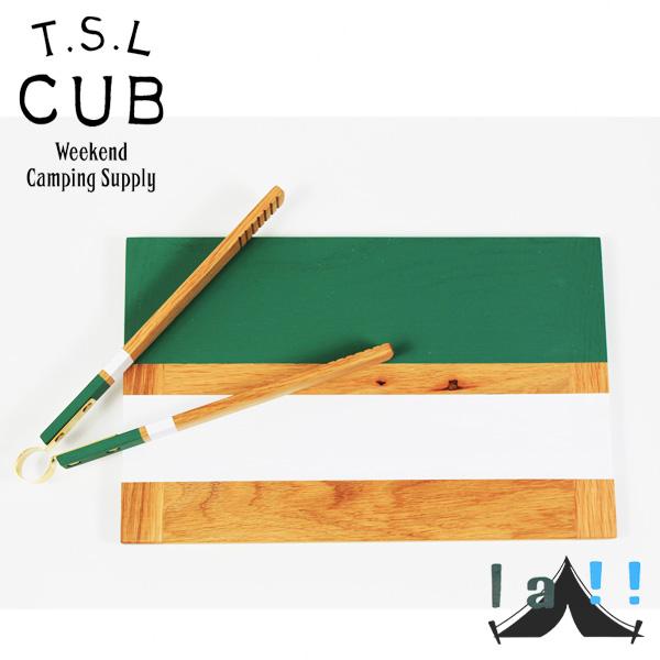 【 TSL Cub 】 ティーエスエル・カブ Wooden Cutting Board 木製カッティングボード