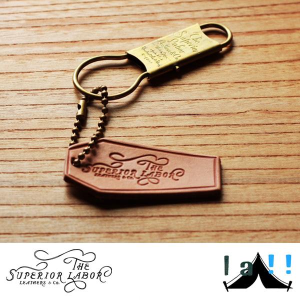 【 The Superior Labor 】 シュペリオールレイバー  Brass Key Holder 真鍮製キーホルダー