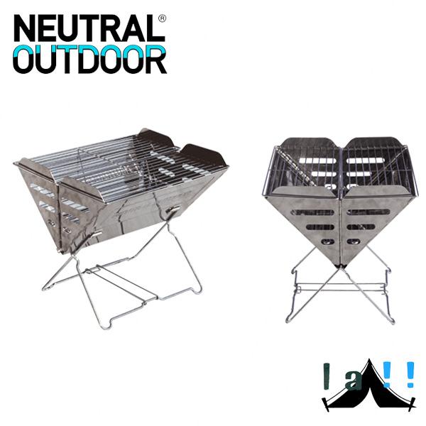 【 Neutral Outdoor 】 ニュートラルアウトドア Cross fire stand