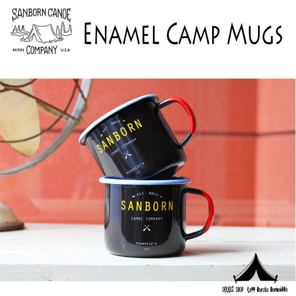 【 SANBORN CANOE COMPANY 】 サンボーンカヌーカンパニー Enamel Camp Mugs