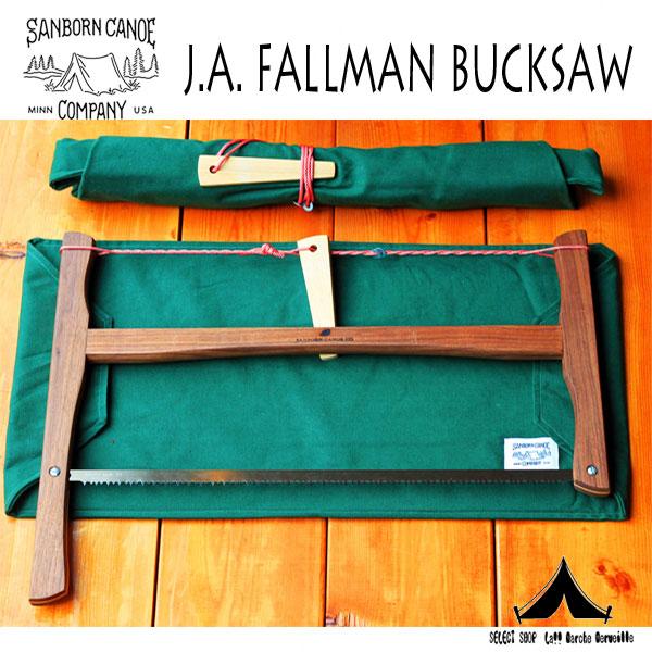 【 SANBORN CANOE COMPANY 】 サンボーンカヌーカンパニー  J.A. FALLMAN BUCKSAW
