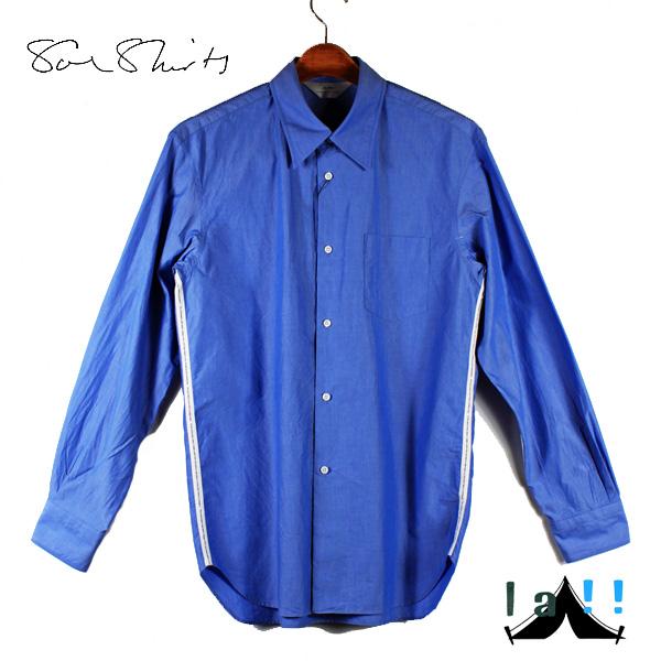 """【 Soe Shirts 】 ソーイシャツ Regulur Collar """"Intro Lined"""" レギュラーカラー・ラインシャツ"""