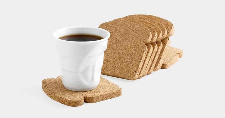 【 Toast It Coasters 】トースト型コースター