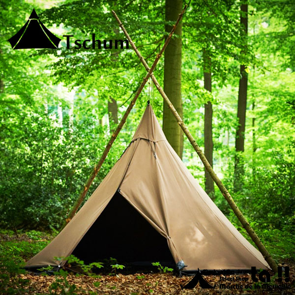 【 Tschum 】 チャン 【予約商品】 KATUN 4P Cotton Tent カトゥン 4P テント