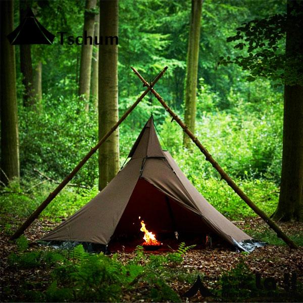 【 Tschum 】 チャン 【予約商品】 SOSWA 2P Cotton Tent ソスワ 2P テント