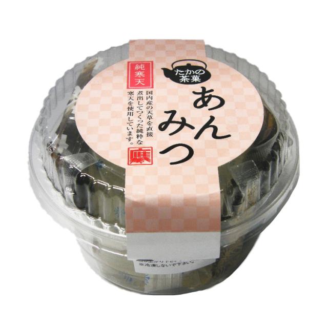 【たかの茶菓】あんみつ 175g