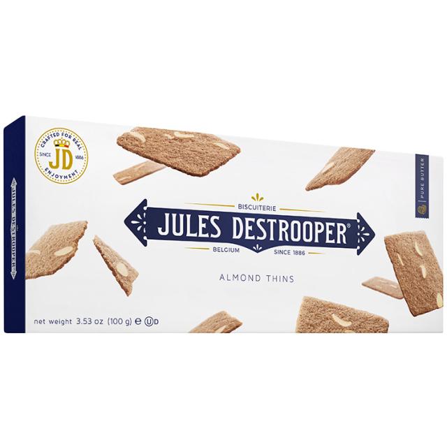 《ベルギー王室御用達》【デストルーパークッキー】アーモンドシン