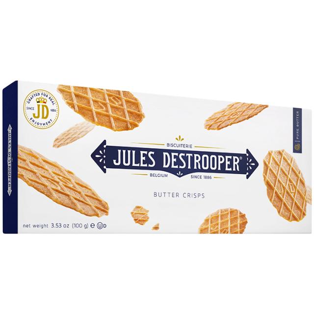 《ベルギー王室御用達》【デストルーパークッキー】バタークリスプ