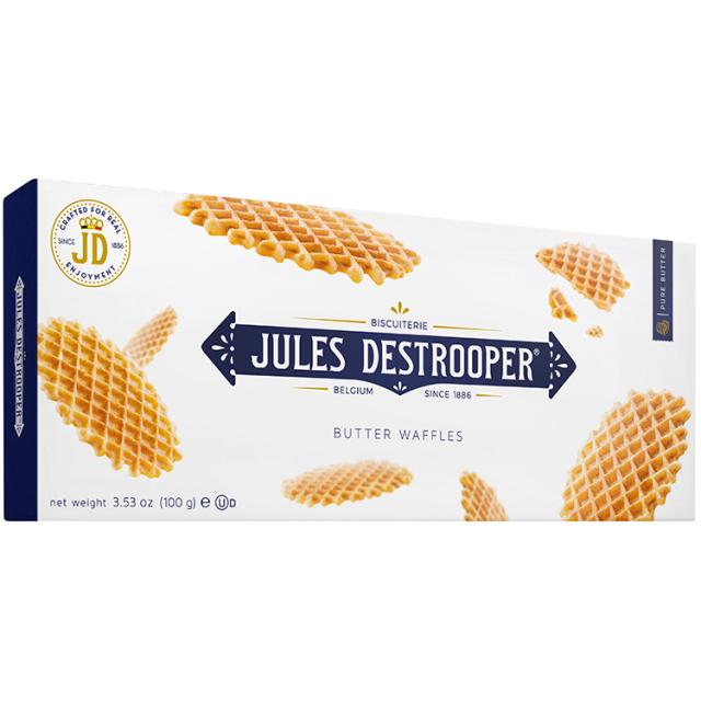《ベルギー王室御用達》【デストルーパークッキー】バターワッフル