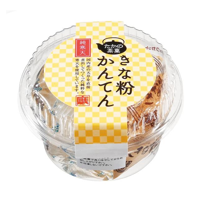 【たかの茶菓】きな粉かんてん 165g