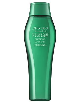 (株)資生堂   高い洗浄力と清潔感で、べたつく頭皮をすっきり整えます。  フェンテフォルテシャンプー(ピュリファイング)  /250ml/500ml/450ml(レフィル)/1000ml/1800ml(レフィル)