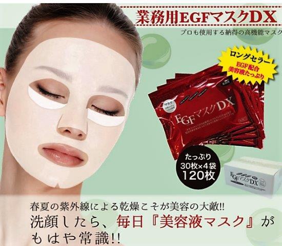 (株)エバーメイト  業務用マスク  EGFマスクDX 1箱(1袋30枚入×4袋) 日本製  正規商品