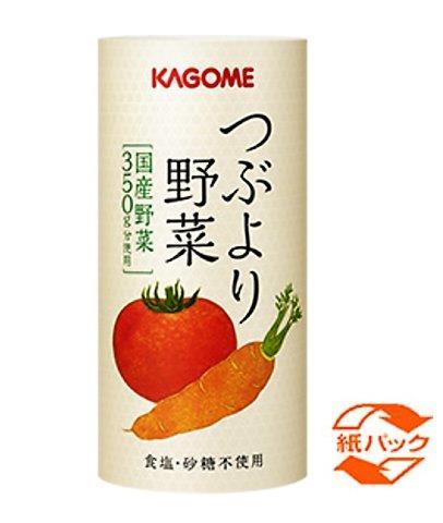 カゴメ  野菜ジュース  つぶより野菜 195g 1本  正規商品
