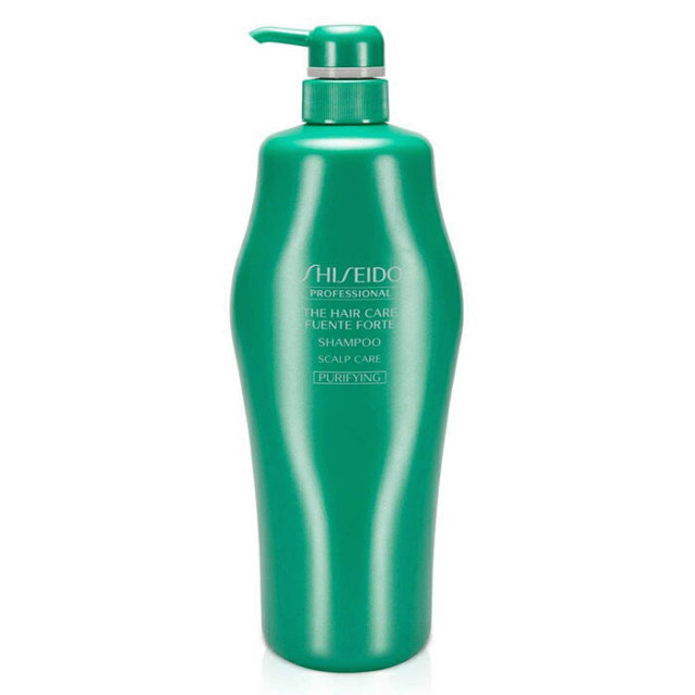 (株)資生堂 頭皮のうるおいを守りながら、髪と頭皮を清潔に保ちます。フェンテフォルテシャンプー/250ml/500ml/450ml(レフィル)/1000ml/1800ml(レフィル)