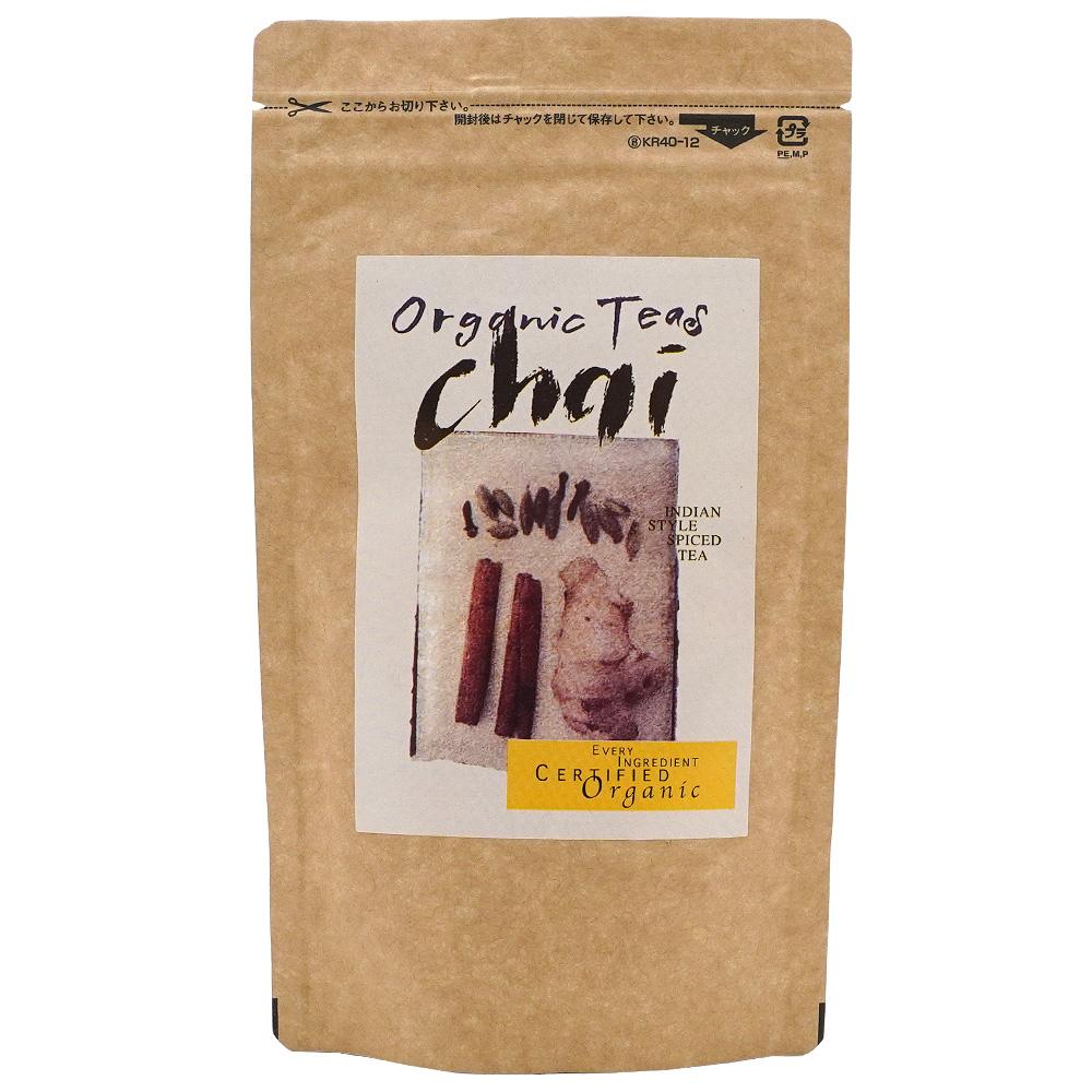 有機チャイ60g インドスタイルオーガニック紅茶 Alishanアリサン