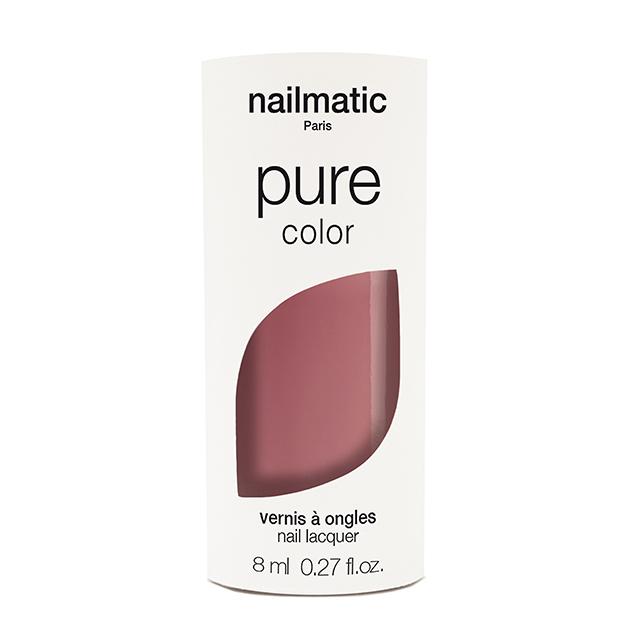 nailmatic pure NINON オールドローズ 8ml 自然由来成分 マニキュア ネイルマティック セルフネイル