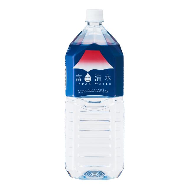 富士清水2L 10本入 ミネラルウォーター 天然水 ミツウロコビバレッジ