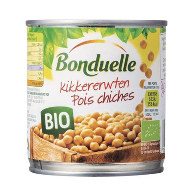 有機ひよこ豆 オーガニック 缶詰 JAS Bonduelle ボンデュエール