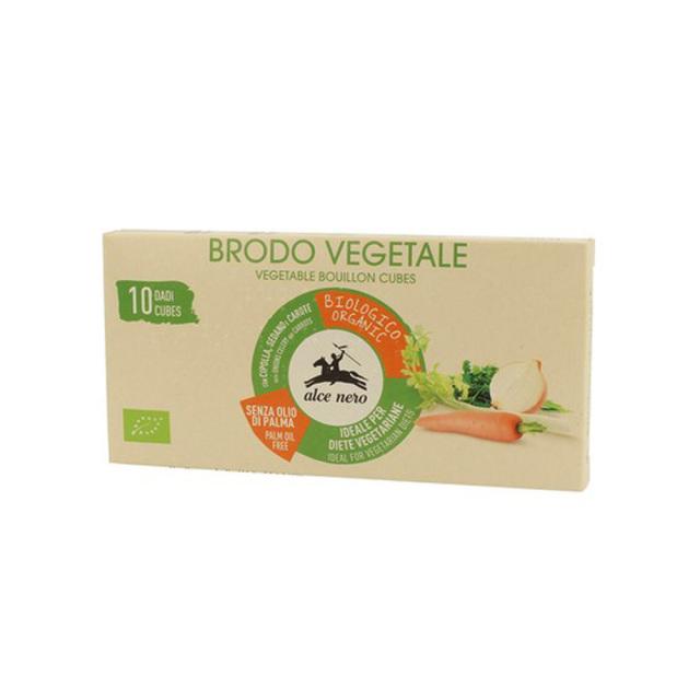 野菜ブイヨン 有機野菜 キューブタイプ 10g 10個 オーガニック 有機JAS EU有機認定商品 alce nero