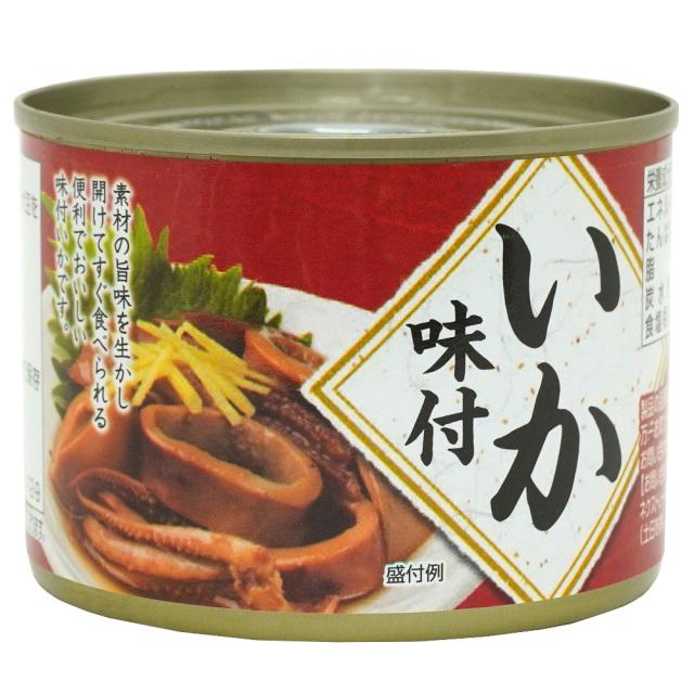 真いか味付煮物の缶詰190g 甘だれ ネクストレード