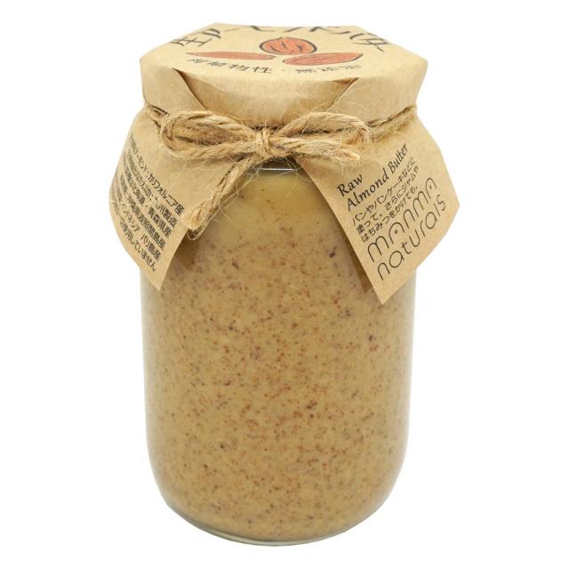 生アーモンドバター350g ナッツバター manma naturals