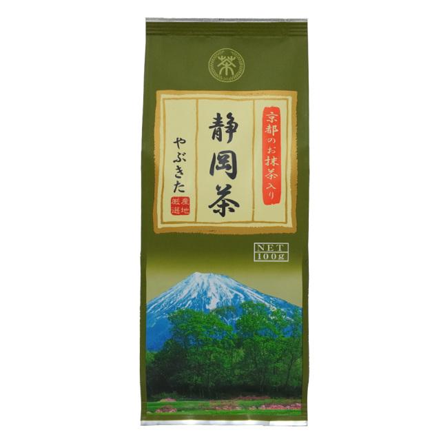 京都のお抹茶入り静岡茶100g 緑茶やぶきた茶 菱和園