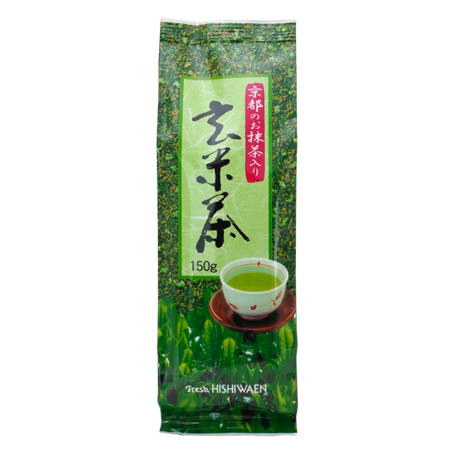 京都のお抹茶入り玄米茶150g 京都産 菱和園